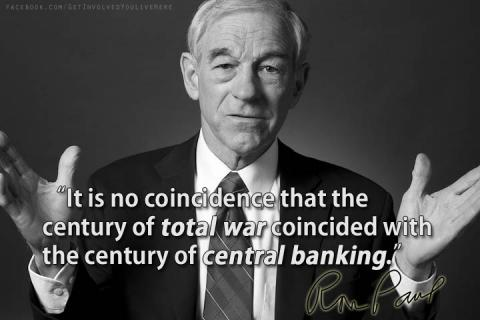 Total war and central banking