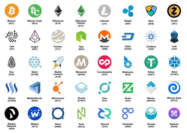 New Cryptocurrencies