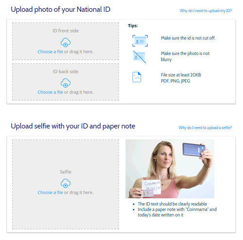 Upload your ID