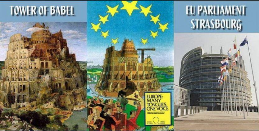 EU parliament - tower of Babel