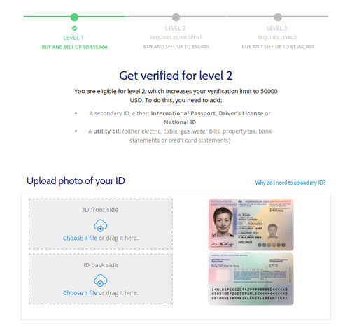Get Verified for Level 2