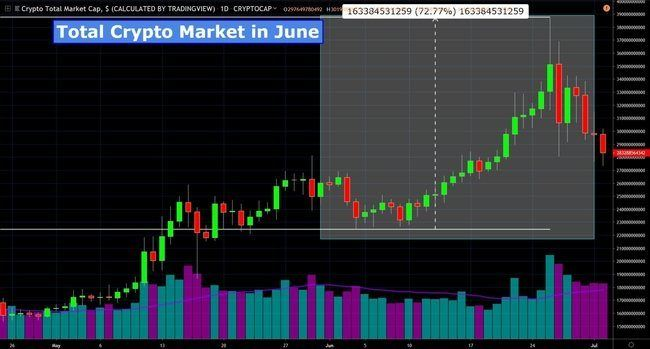 Total Crypto Market June 2019