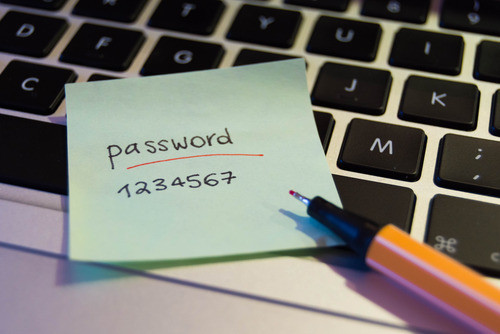 Insecure password