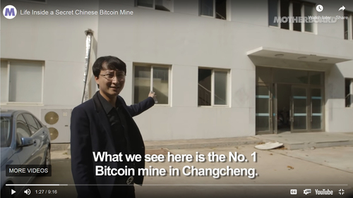 Life Inside a Secret Chinese Bitcoin Mine ‎