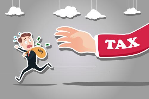 Tax hand